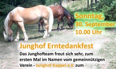 Junghof Erntedankfest 30. Sept. 2018