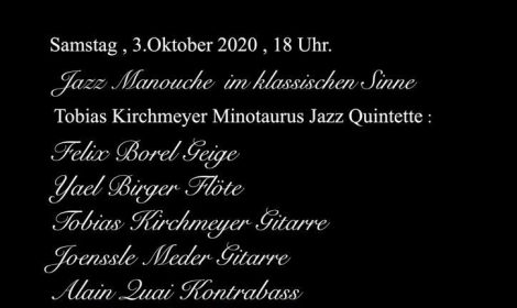 Herbst Konzert 03. Oktober 2020, 18 Uhr