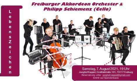 Freiburger Akkordeon Orchester & Philipp Schiemenz 7. August 2021